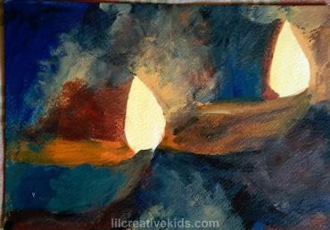 paint-diwali-diyas-lilcreativekids